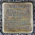 Stolperstein Spandauer Damm 62 (Charl) Flora Weger.jpg