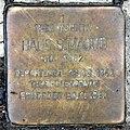 Stolperstein Waldschulallee 7 (Weste) Hans S Magud.jpg