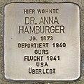 Stolperstein für Dr. Anna Hamburger (Heidelberg).jpg