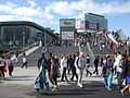 Stratford station footbridge looking north to Westfield.jpg