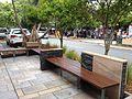 Street benches in Hastings Street, Noosa Heads.JPG