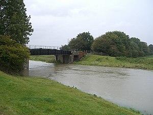 Steyning Line - Stretham railway bridge over the River Adur near Henfield