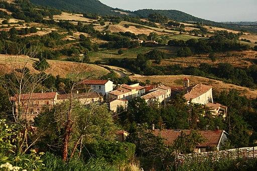 View of Stribugliano, Arcidosso