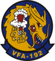 Strike Fighter Squadron 192 (US Navy) insignia c1985.png