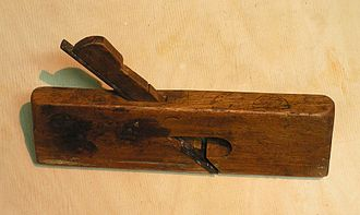 Rebate plane - A wood rabbet plane