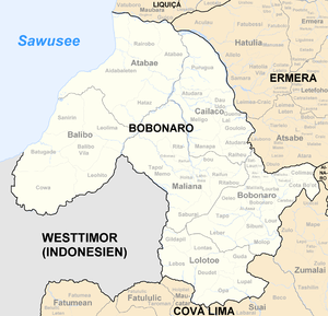 Sucos of East Timor - Sucos of Bobonaro
