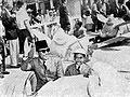 Sukarno and Guntur in Disneyland, Aneka Amerika 102 (1957), p32.jpg