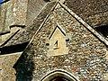 Sundial, St Peter ad Vincula church, Broad Hinton - geograph.org.uk - 552451.jpg