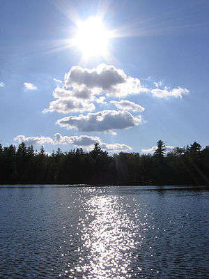 Sunfish Lake (Ontario) - Sunfish Lake near Waterloo, Ontario.