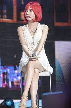 Sunny at Party Showcase on July 2015 01.jpg