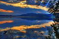Sunset and Reflections - Lake of Menteith - panoramio.jpg