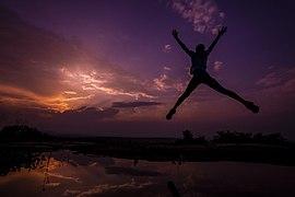 Sunsets of Uganda - Jump.jpg