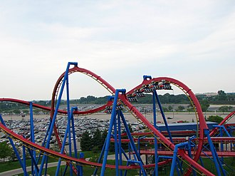 Superman: Ultimate Flight - Image: Superman Ultimate Flight at Six Flags Great America 12