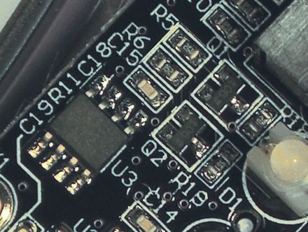 Surface mount components, including resistors, transistors and an integrated circuit Surface Mount Components.jpg
