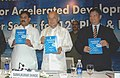 """Sushilkumar Shinde releasing a publication at the inauguration of the International Conclave on """"Key Inputs for Accelerated Development of Indian Power Sector for 12th Plan & Beyond"""", in New Delhi on August 18, 2009.jpg"""