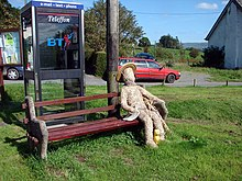 Suspicious character observed in Llanwrin! - geograph.org.uk - 240614.jpg