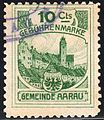 Switzerland Aarau 1906 revenue 10C - 2.jpg
