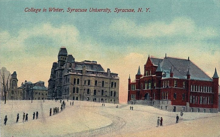 Syracuse-university 1908 winter