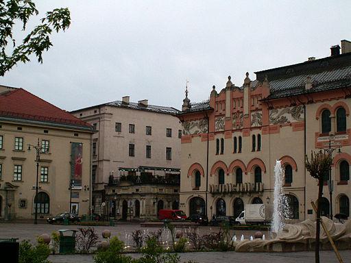 Szczepanski square Krakow