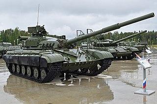 T-64 Soviet main battle tank