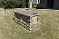 THREE CHEST TOMBS IN CHURCHYARD TO SOUTH OF ENTRANCE TO CHURCH OF ST MARY 2.jpg