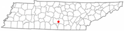 Location of Normandy, Tennessee