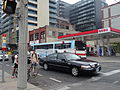 TTC 8198 turning North on Sherbourne, from Front, 2015 05 10 (3) (17320849798).jpg