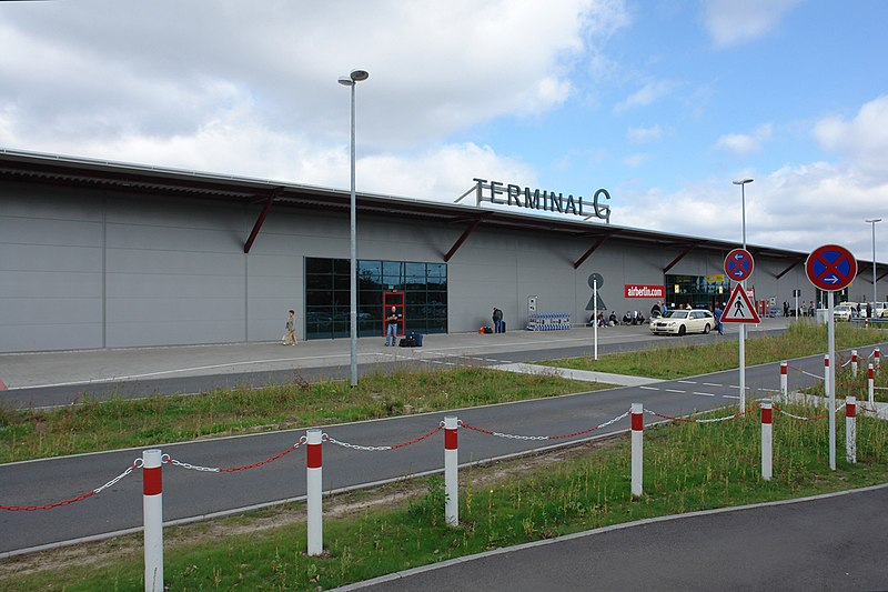 Терминал C берлинского аэропорта Тегель Tegel Airport