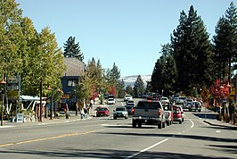 North Lake Boulevard in Tahoe City