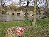 Puente sobre el Tauber en Tauberrettersheim