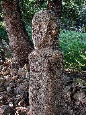 Torrean civilization - Statue menhir from Tavera