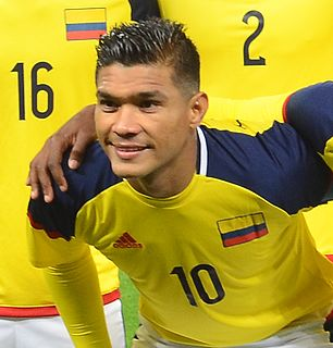 Teófilo Gutiérrez Colombian footballer