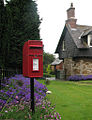 Teigh, postbox - geograph.org.uk - 1757538.jpg