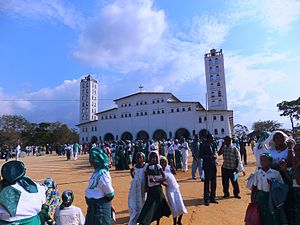 Religion in the Democratic Republic of the Congo - Nkamba, the holiest Kimbanguist site in the Congo