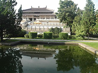 Yan Emperor - A temple dedicated to the worship of Yandi in Baoji, Shaanxi