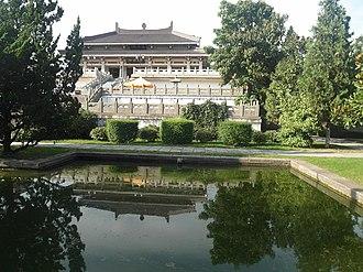 Yan Huang Zisun - Image: Temple of Yandi in Baoji, Shaanxi, China