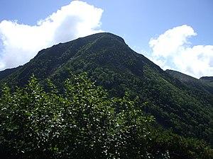Mount Tengu - Mount Tengu from west