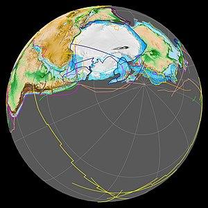 Terra Australis Orogen - Image: Terra Australis orogen 180Ma