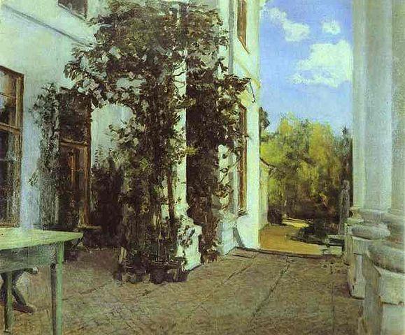 Терраса в Введенском. 1880-е
