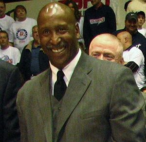 Terry Tyler - Tyler in 2011 at the University of Detroit Mercy's 2011 dedication of Dick Vitale Court in Calihan Hall.