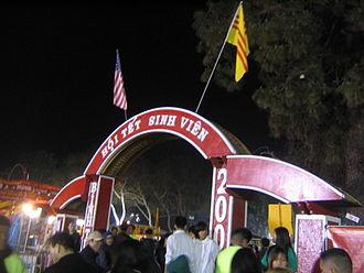 Little Saigon - Tết Festival in Little Saigon, Orange County, California
