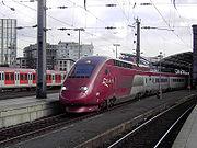 A Thalys PBKA at Köln Hauptbahnhof