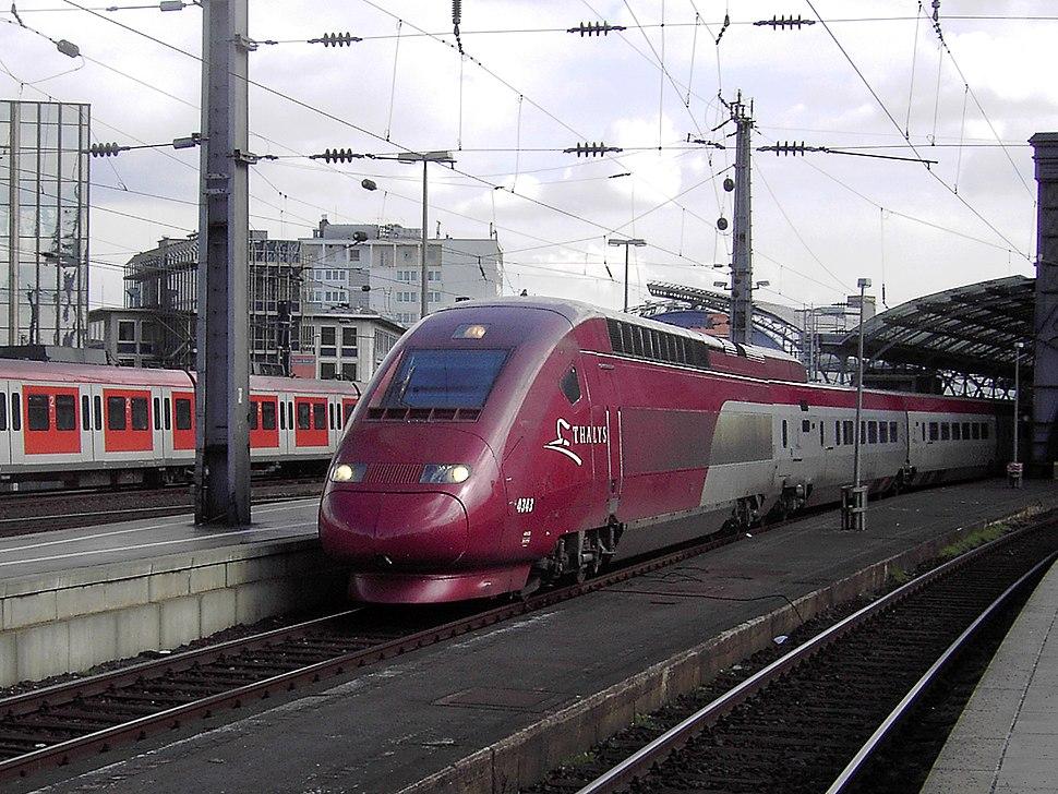 Thalys 4343 Koeln