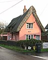 Thatched pink cottage - geograph.org.uk - 1594094.jpg