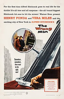 <i>The Wrong Man</i> 1956 film by Alfred Hitchcock