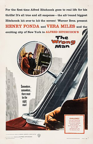 The Wrong Man - Theatrical film poster