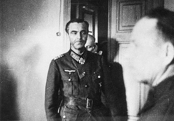 Paulus ger sig till Sovjetiska militärledningen
