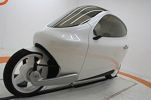 The C1 Electric Vehicle by Lit Motors (2)