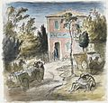 The Cafe of the Black Snake near Montescudo, Italy Art.IWMARTLD4779.jpg