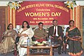 The Chairman, Railways Board, Shri J.P. Batra and Dr. Smt. Kiran Bedi, IPS at the Women's Day celebrations, organised by the Railway Women's Welfare Central Organisation, in New Delhi on November 18, 2005.jpg